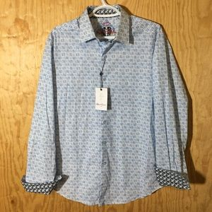 Robert Graham Mens Council Classic fit shirt